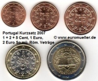 Portugal Kurzsatz 2007 lose (I. - RV)